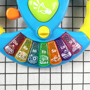 Image 3 - Promotion Toy Musical Instruments For Kids Baby Steering Wheel Musical Handbell Developing Educational Toys Children Gift DS19
