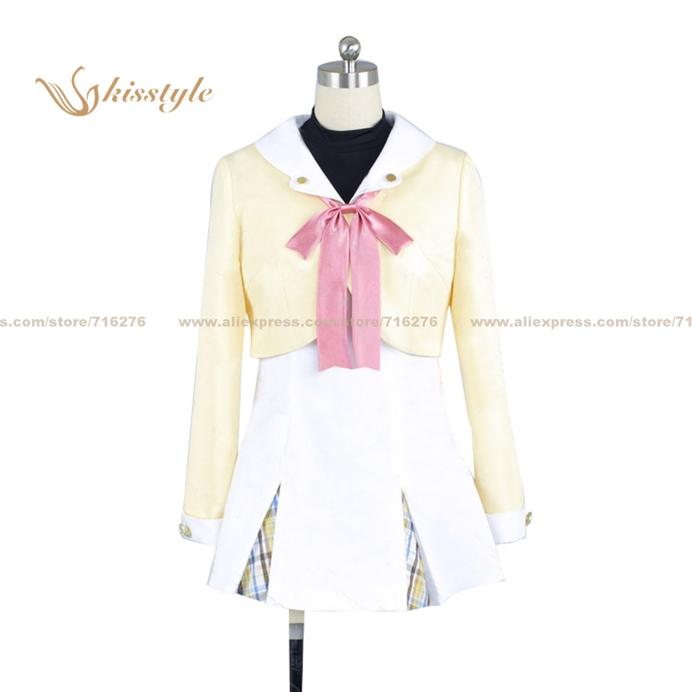 Kisstyle Fashion Magical Suite Prism Nana Asuka Asagi Earth Nana Uniform COS Clothing Cosplay Costume,Customized Accepted