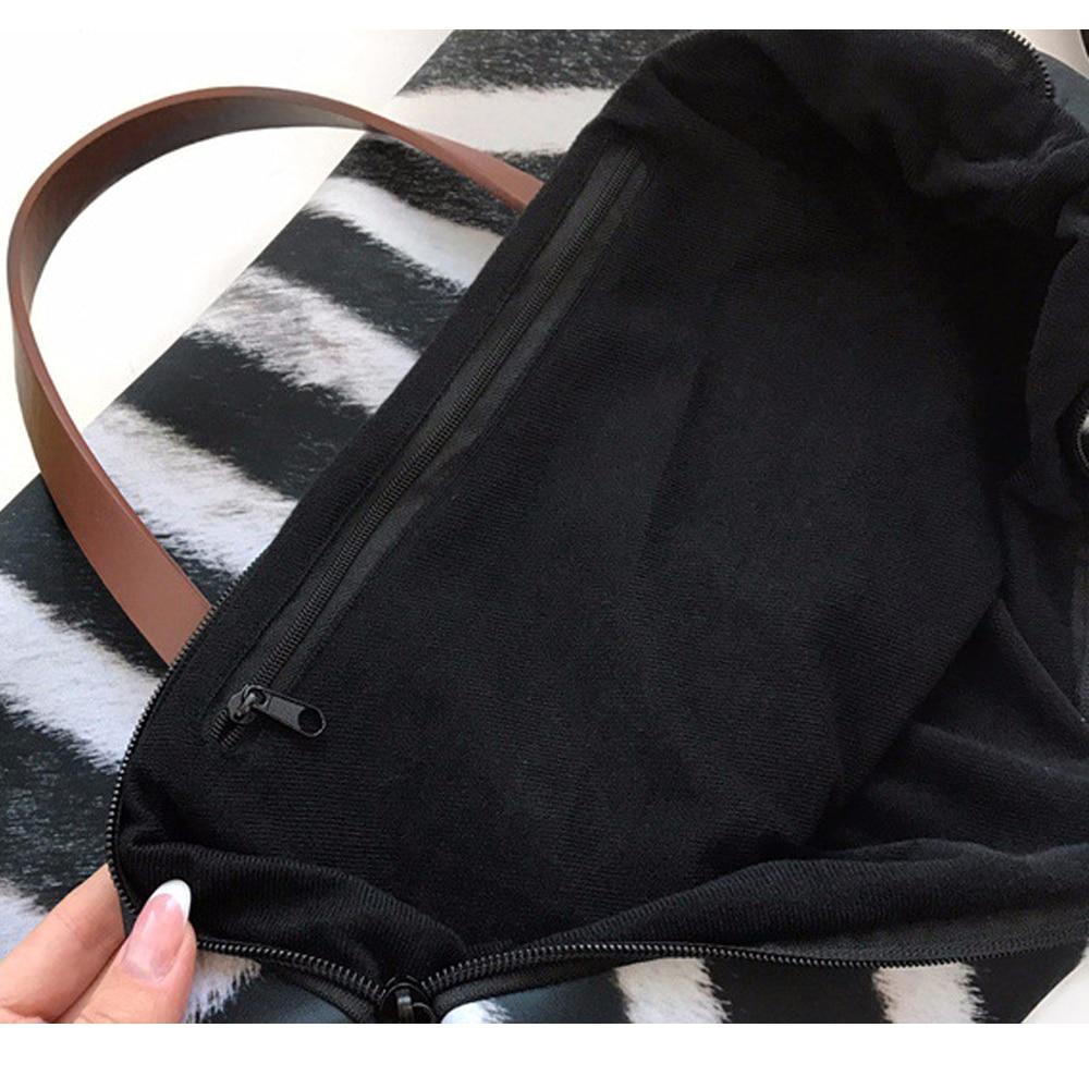 44c00fc55fed FORUDESIGNS Funny Cartoon Luxury Design Women Large Neoprene Handbags JOJO  Siwa Print Woman Casual Large Tote Bag Shoulder Bags-in Shoulder Bags from  ...