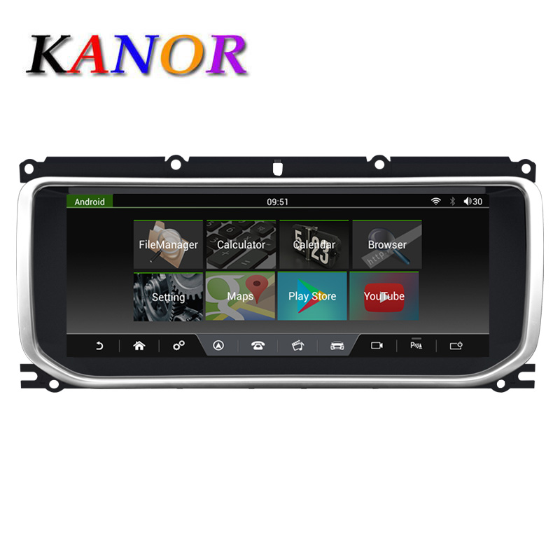 KANOR android 7.1 audio player radio for Land Range Rover Evoque 2015-2018 support bluetooth gps navigation mp3 2GB+32GBKANOR android 7.1 audio player radio for Land Range Rover Evoque 2015-2018 support bluetooth gps navigation mp3 2GB+32GB