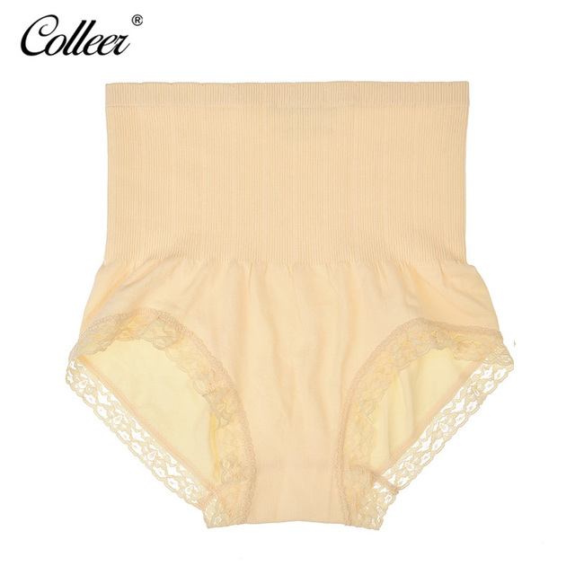 e8004b03549df COLLEER Janpan Panties Munafie High Waist Women s Panties Care Control Body  Slimming Belly Sexy Briefs Women lace Underwear