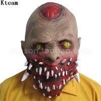Cadılar bayramı Korku Zombi Maskesi Lateks Kanlı Korkunç Son Derece Iğrenç Tam Yüz Maskesi Kostüm Partisi Cosplay Resident Evil Maske Oyuncak