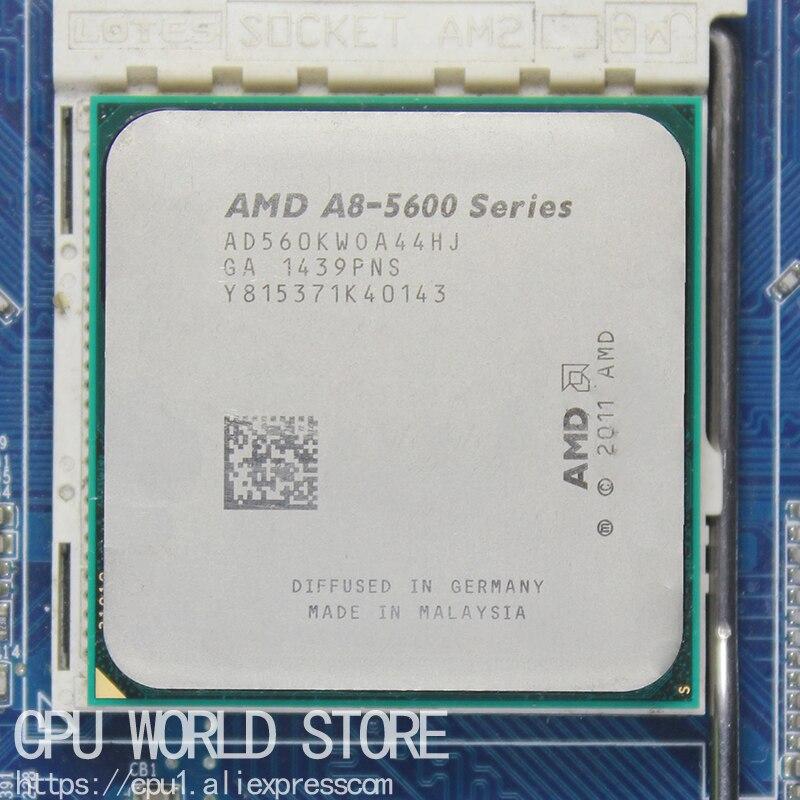 AMD Un-Série APU X4 A8-5600K A8 5600 K 3.6 GHZ 32NM 100 W Socket FM2 Quad-Core CPU Processeur