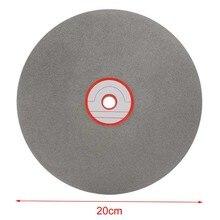 8 אינץ 150 גריסים טחינת גלגל יהלומי חיתוך דיסק ליטוש גלגלים מצופה חיק שטוח דיסק מלטש יהלומים כלים חן תכשיטי זכוכית