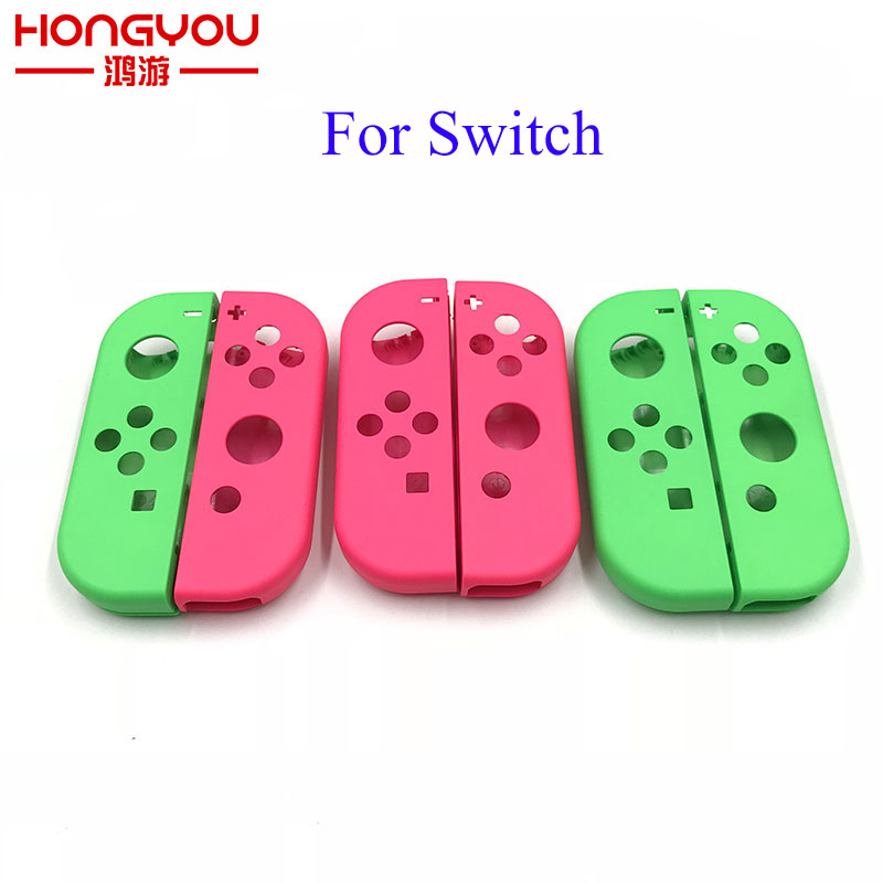Replacement Housing Hard Shell Skin Case For Nintend Switch NS Joy-Con Controller Green Faceplate Cover For Joycon