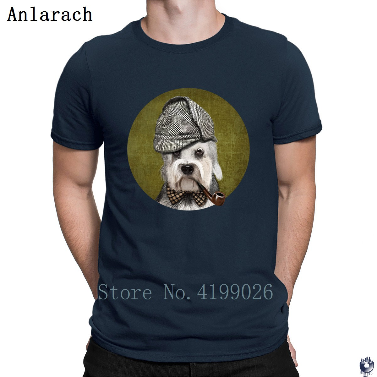 Dandie Dinmont Terrier tshirt Better Tee top Interesting Trend t shirt for men big sizes Knitted male Spring