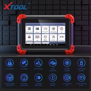 Image 3 - X100 PAD מקצועי מפתח מתכנת OBD2 אבחון סורק רכב קוד קורא רב שפה עם EEPORM עדכון באינטרנט