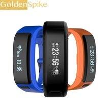 Новый XR01 спортивные группы Водонепроницаемый IP68 браслет OLED Сенсорный экран Bluetooth браслет сердечного ритма Мониторы в режиме ожидания 100 дней