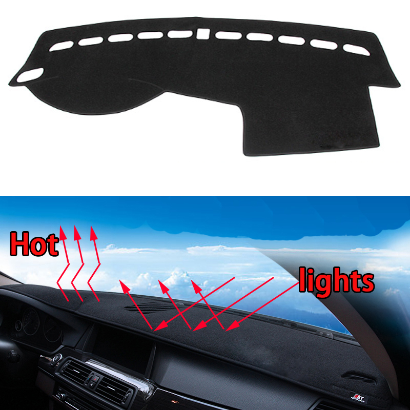 Car dashboard Avoid light pad Instrument platform desk cover Mats Carpets Auto accessories car styling for volvo xc60 s60 S60L special car trunk mats for toyota all models corolla camry rav4 auris prius yalis avensis 2014 accessories car styling auto