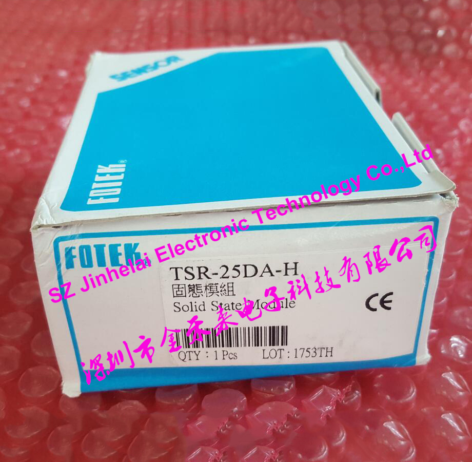 TSR-25DA-H New and original FOTEK 3-Phase Solid state module 25A 90-480VAC