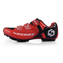 SIDEBIKE Professional Athletic Bicycle Sports Shoes Cycling MTB Bike Shoes Mountain Shoes Unisex MTB Bike Self-Locking Shoes