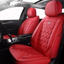(Ön + arka) özel deri araba koltuğu kapakları Volkswagen vw passat b5 b6 b7 b8 2000 2007 yıl 2011 2019 için yıl yapmak