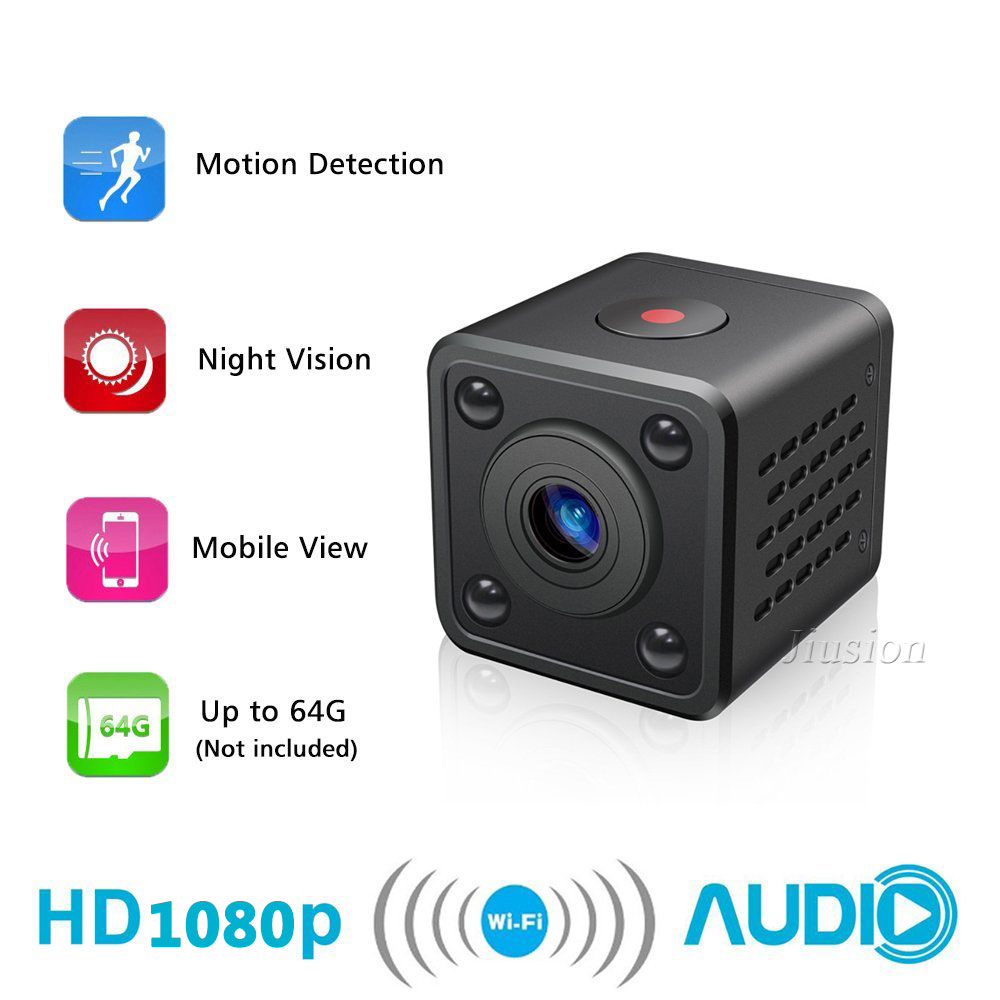 HDQ9 WiFi Mini Camera 1080P Full HD Wireless Camcorder with Night Vision Motion Sensor DV DVR Video Audio Recorder Micro Cam mini dv md80 dvr video camera 720p hd dvr sport outdoors with an audio support and clip