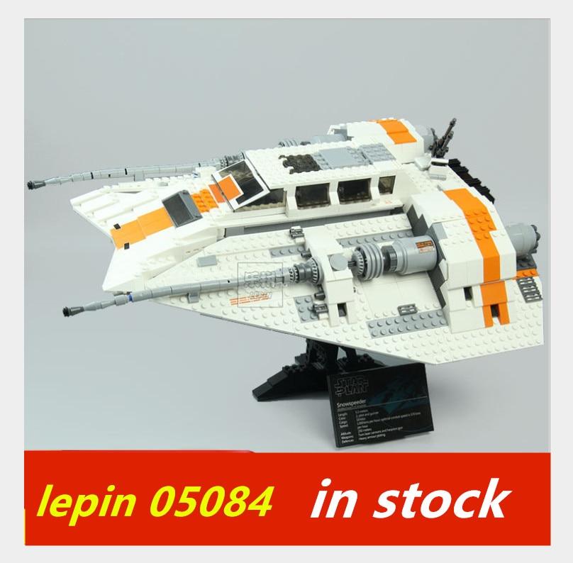 lepin Snowspeeder Lepin Star Wars 05084 Set legoing starwars Snowspeeder legoing 10129 Children Model Building Blocks Brick Toys стоимость