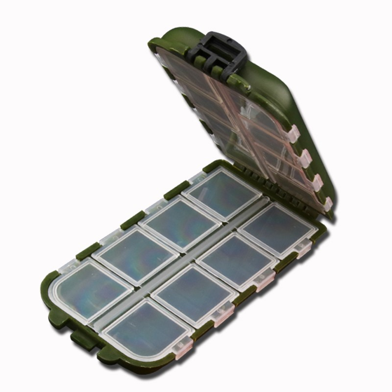 Mini Plastic Fishing Box Tool Case Waterproof Storage Box Screws Accessories Toolbox