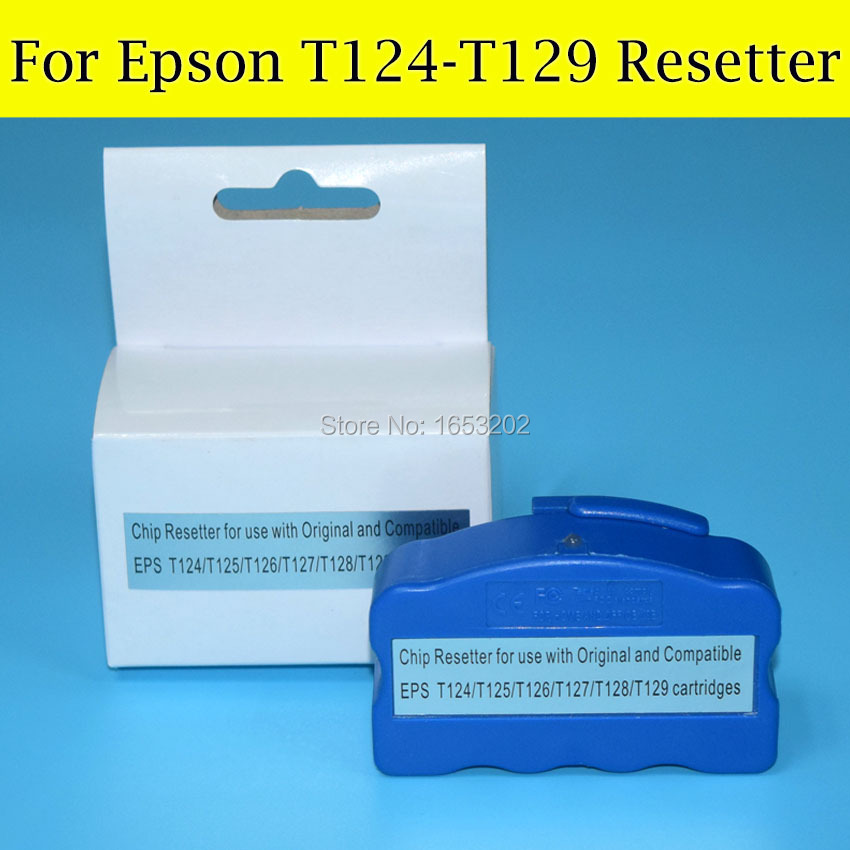 1 PC Chip Resetter For Epson T126 T127  T128 T129 WF-7010/WF-7510/WF-7520/WF-3540/WF-3520 Printer комплект мягкой мебели ольга 2