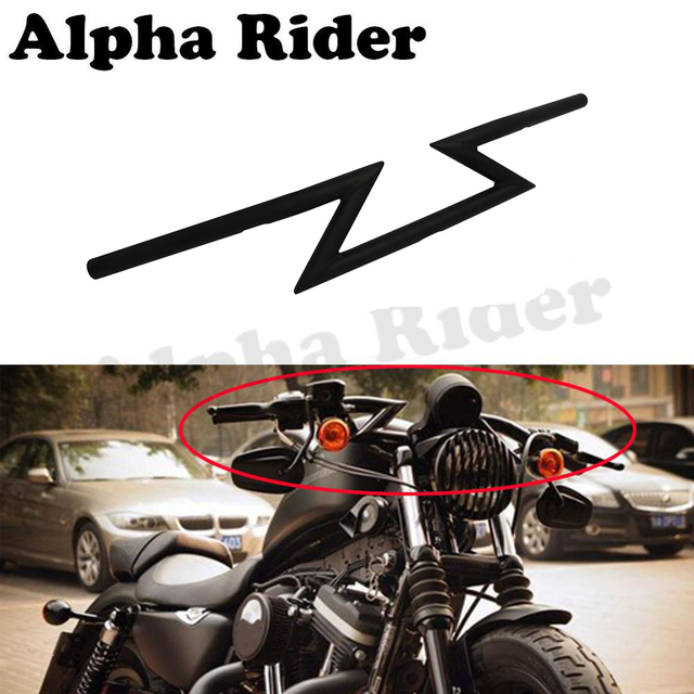 "1"" Drag Handle Bar Z Bar Steering Wheel for Harley Sportster XL 883 1200 48 72 Roadster Nightster Iron Low Custom 25mm Handlebar"