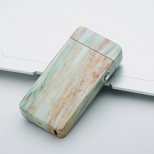 Dual Arc Electric USB Lighter Rechargeable Plasma Windproof Flameless Cigarette Cool Gift for Man