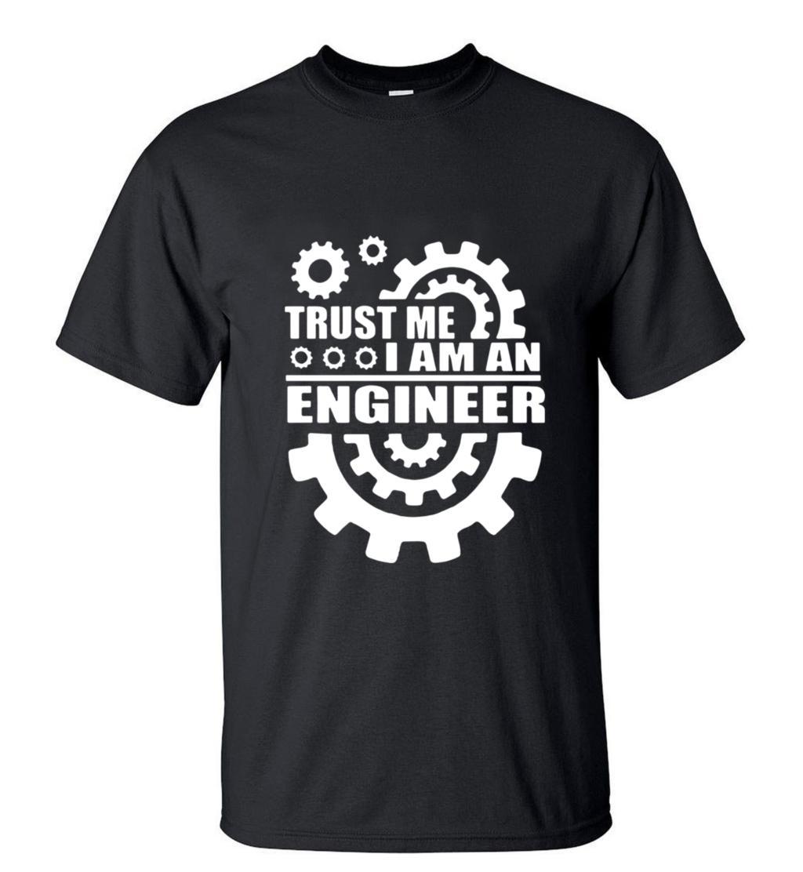 Croyez-moi Je Suis Un Ingénieur Graphique Vitesse Imprimé T-Shirt 2018 hommes D'été À Manches Courtes O-cou T-shirts Streewear HipHop Tops Tee