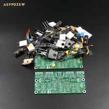 2 Channel L20 SE Power amplifier DIY Kit Transistor amplifier kit A1943 C5200 350W+350W