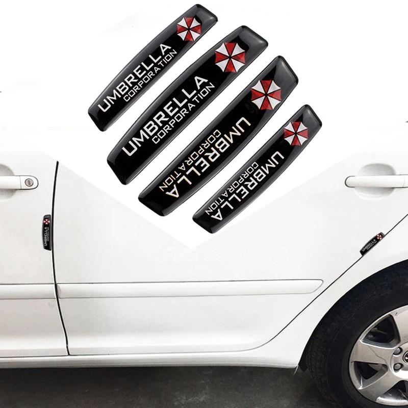 Auto Modified Car Styling Door Edge Protection Sticker Bumper Strip Decals For Umbrella Logo For Ferrari Bmw Audi Lada Opel Jeep Bumper Strip Protection Stickercar Styling Aliexpress