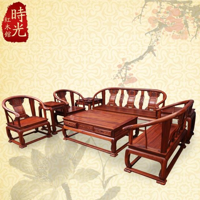 Afrikanischen Palisander Sofa Stuhl Palace Chinesischen Mahagoni