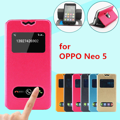 innovative design 909d0 1c8ed US $5.68 |Newest Arrival Gold leather silk Case For OPPO Neo 5 Smart Mobile  phone Flip Cover Cases For Acer Liquid E2 Duo on Aliexpress.com | Alibaba  ...
