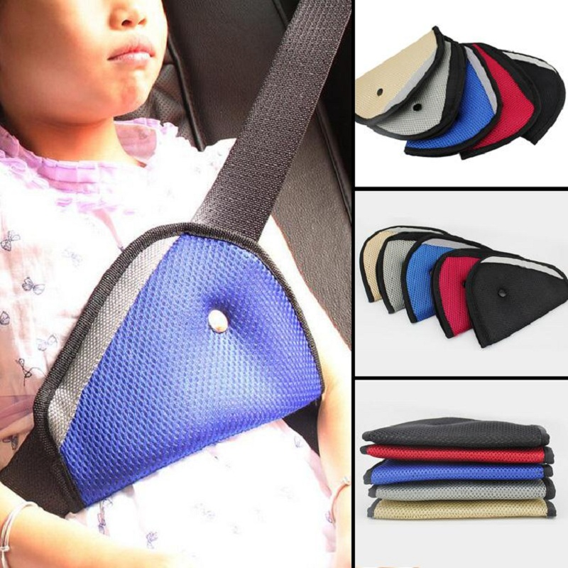 Giantree Baby Car Safety Cover Shoulder Harness Adjuster Seat Belt Clip Random Color automotive car seat belt seatbelt adjuster auto belts clip for short people children end the pain