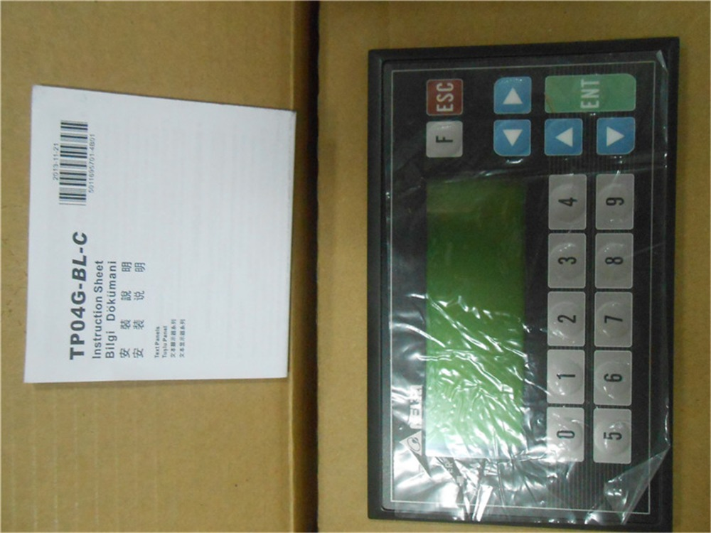 TP04G-BL-C Delta Text Panel HMI STN LCD single color 4 Lines Display model new in box tp04g bl c 4 1 192x64 stn monochrome delta text panel tp04g bl c hmi new in box fast shipping