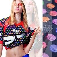 Free shipping! Digital Printing Fashion clothing coat fabric wholesale high quality cloth