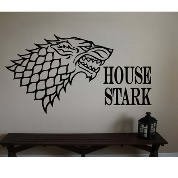Awesome  New Vinyl Game of Thrones Poster Iron Throne Wall Decal Wall Stickers Mural Wall Art Home Decor Size cm