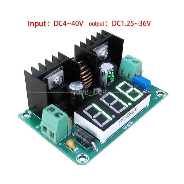 200 Вт 8a Напряжение редуктор dc-dc конвертер 3.7 В 5 В 9 В 12 В 19 В 24 В 1.25-36 В ШИМ регулятор