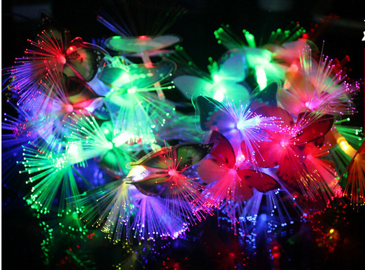 2016 Butterfly Fiber String Light,home Decor Led Butterfly