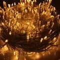 50 m 500 Leds AC100-240V 8 Modelo de Iluminação IP44 Luzes LED String casamento festa de Natal Estrelado Luzes De Fadas (UE/EUA/REINO UNIDO/AU Plug)