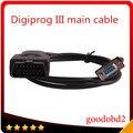 Автомобилей Digiprog3 Главный Испытательный Кабель Digiprog III OBDII 16pin Кабель Digiprog 3 подключите кабель коррекция одометра инструмент тест автомобиля кабель