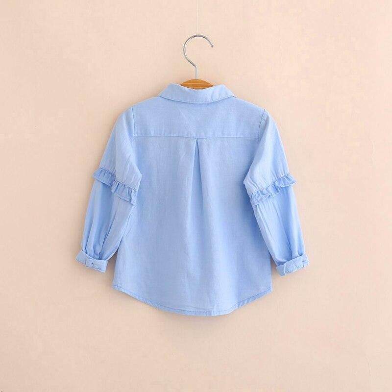 27309e68842 Купить IMMDOS 2018 весенние хлопковые блузки для девочек