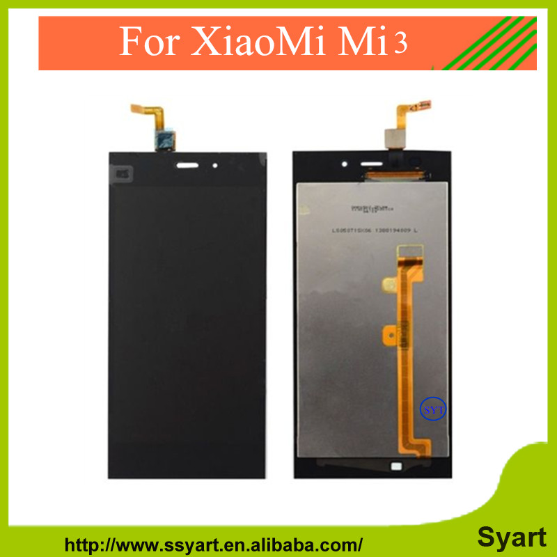 LCD Display + Touch Screen Digitizer Glass Panel For xiaomi m3 mi3 + Tool + Free Shipping