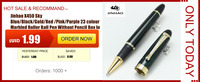 цзиньхао 500 вежливо молоко и золотой поворот ролик ручка отменяет школы и офиса ручка форме pensluxury письма porch ручки