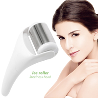 Ice Roller Face Skin Cool Body Massager Relax Stainless Head Skin Rejuvenation Preventing Wrinkle Beauty health care