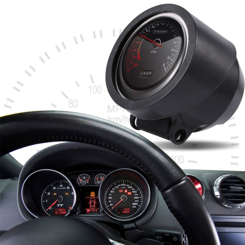 New Red Light 2.5 Inch 60mm DEFI BF Racing Car Turbo Boost Oil Press Water Temp Oil Temp Volt Tachometer Gauge Meter