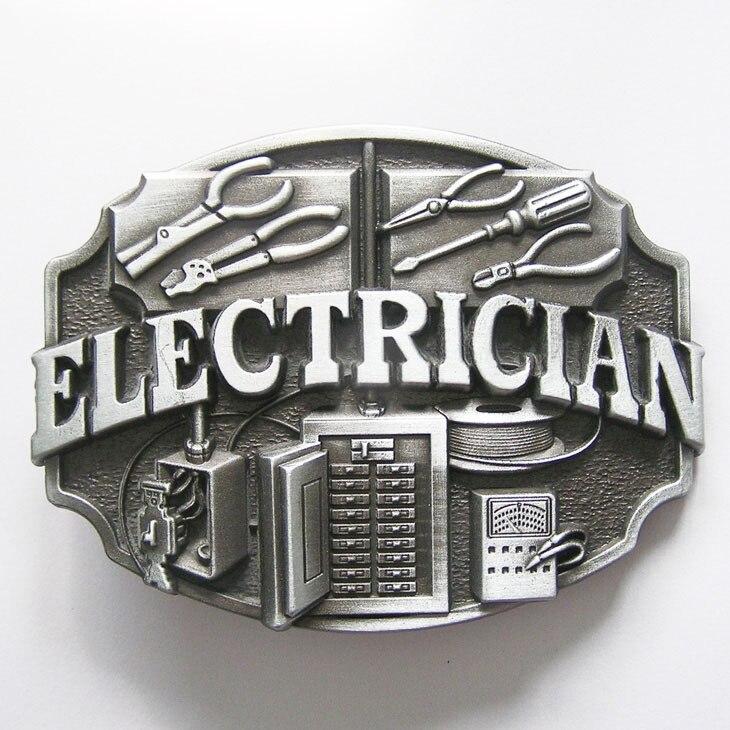 ELECTRICIAN BELT BUCKLE NEW