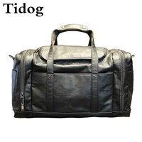 Tidog новый супер емкость Мужчины Путешествия сумка