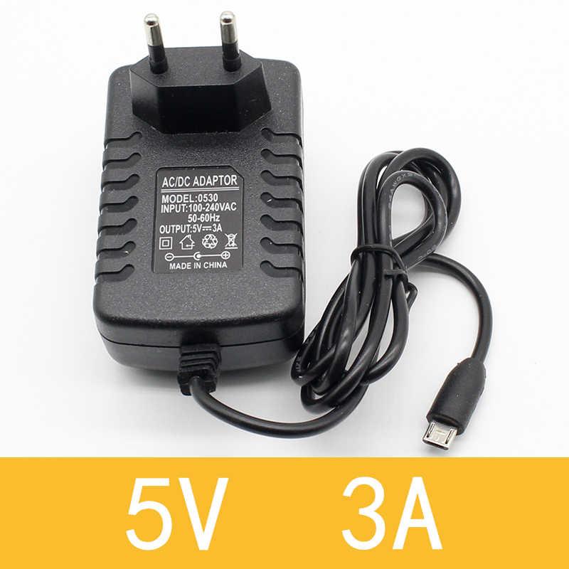 1 шт. 100-240 В AC к DC адаптеры питания зарядное устройство адаптер 5 в 12 В 1A 2A 0.5A ЕС Plug 5,5 мм x 2,5 мм/5v3aDC разъем Micro USB