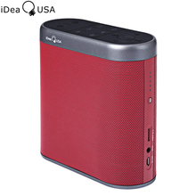 iDeaUSA W205 2.4GHz WiFi Bluetooth Speaker HiFi Stereo Sound 4400mAh battery Wireless Airplay Speaker controlled by iDeaHome App
