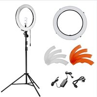 Neewer 14 Inches 36W LED 5500K Dimmable Ring Light Kit For Video Makeup Portrait And Photography