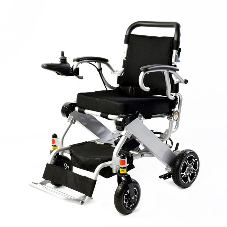 Fashion lightweight folding power electric font b wheelchair b font for font b disabled b font