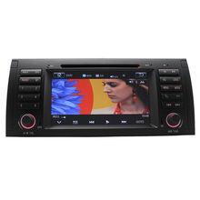 free map 1 din car Radio DVD Navigation GPS Bluetooth HD SD BT MP3 For B M W 5 Series E39 M5
