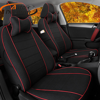 AutoDecorun Exact Fit Cushion Cover Sets for BMW 1 Series Accessories Seat Covers for Cars Interior Seat Support Cushion Styling