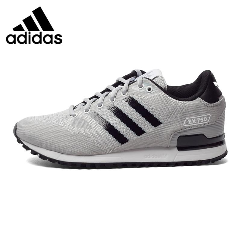 Original New Arrival  Adidas Originals ZX 750 Men's  Skateboarding Shoes Sneakers