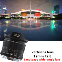 7artisans 12mm f2.8 Ultra Wide Angle Lens